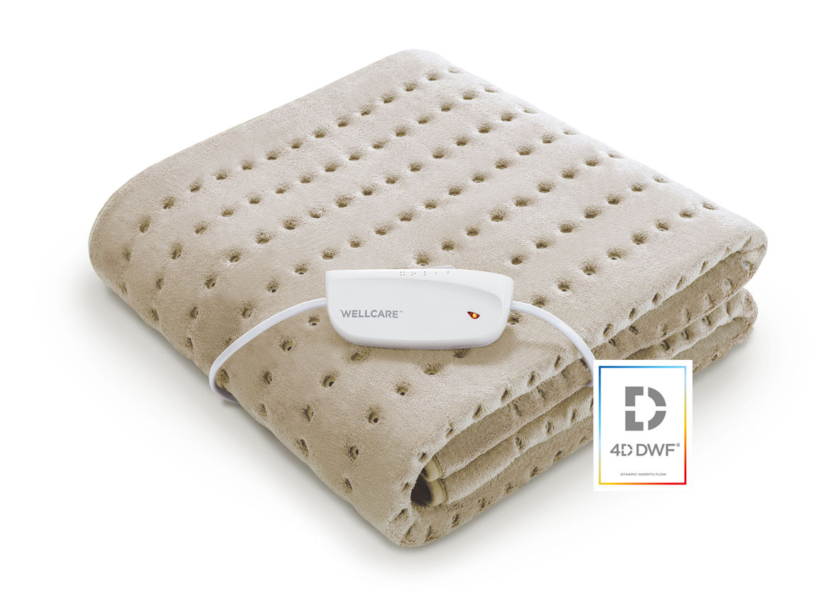 Wellcare 4D DWF Electric underblanket single size sleep better